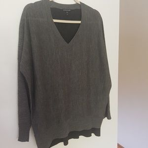 Eileen Fisher Two-toned Sweater, Sz M
